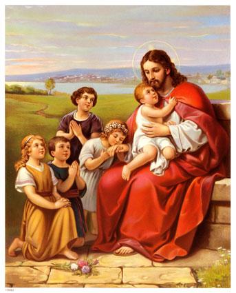 Znalezione obrazy dla zapytania JEZUS W OBJĘCIACH DZIECI