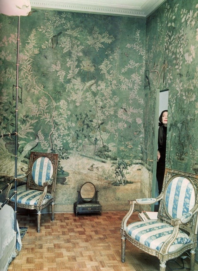 Pauline de Rothschild's home, photographed by Horst P. Horst.
