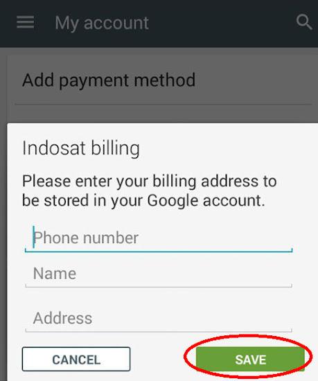 Inilah Cara Pembelian Aplikasi Berbayar Di Google Play Dengan Potong Pulsa Rahmancyber Net
