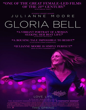 Gloria Bell (2019) English 720p HDRip x264 850MB ESubs Movie Download
