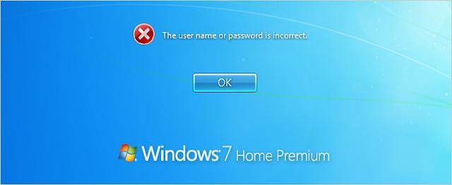 lost password windows 7