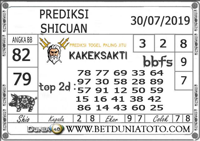 """Prediksi Togel """"SICHUAN"""" DUNIA4D 30 JULI 2019"""