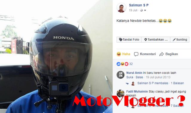 Apa Si MotoVlogger Itu ?