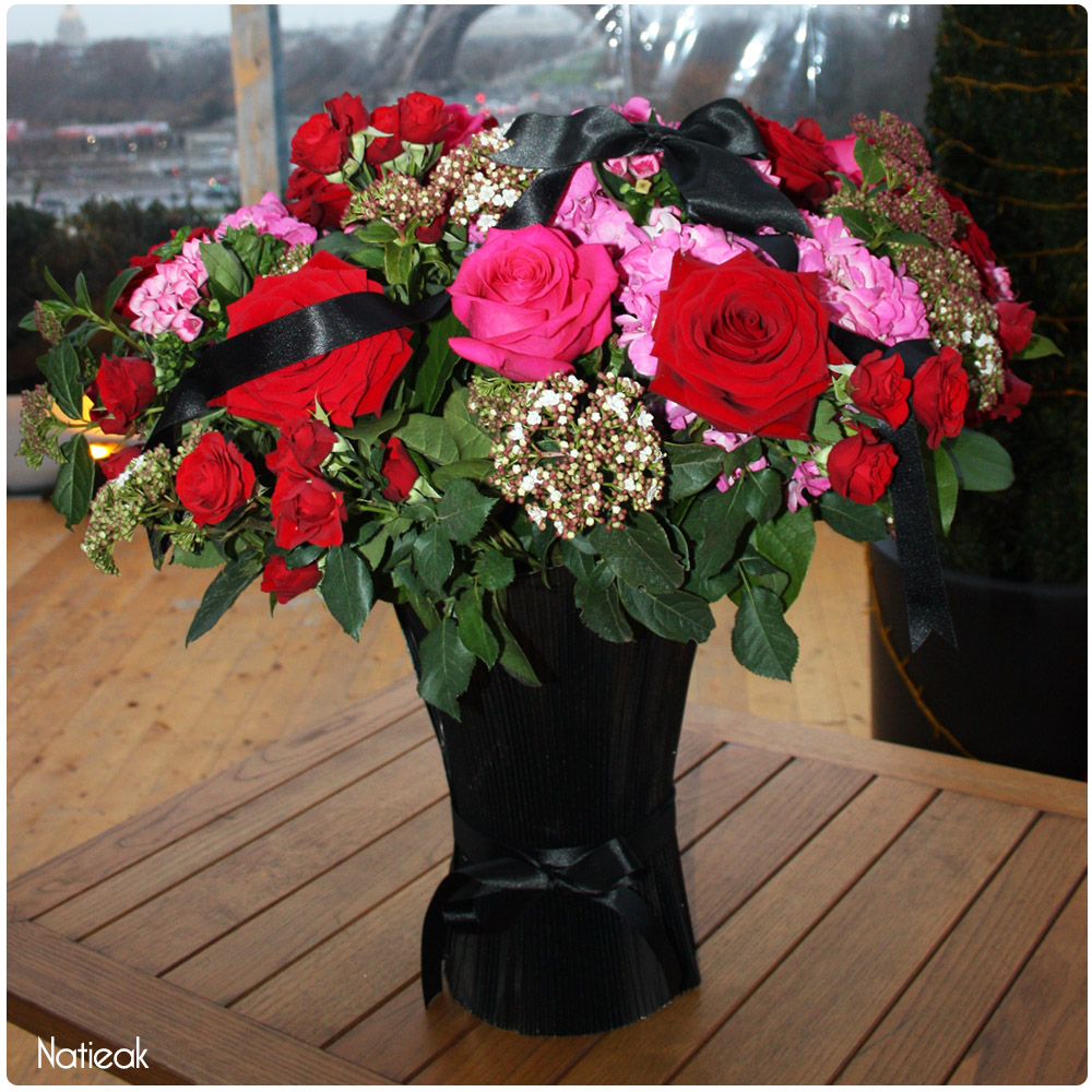 Bouquet Impertinente d'Interflora et Chantal Thomass Saint-Valentin