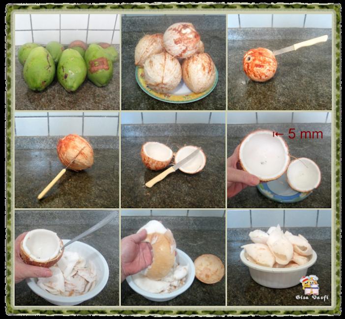 Sorvete de coco quase verde 3