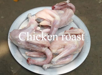Village Food | Chicken roast | Eid special recipe