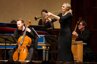 Alison Balsom and English Concert at Wigmore Hall - photo credit Simon Jay Price