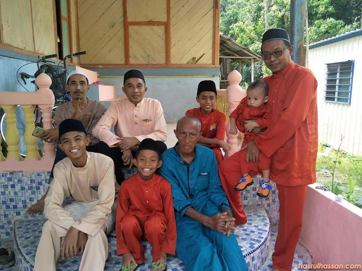 Kerabat adik beradik, cucu Zainal Arpin, Kampung Ekor Lambat, Parit Perak
