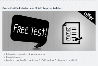 2 Free Oracle Certified Master Java Enterprise Architect (OCMJEA) 6 Mock Exams - 1Z0-807