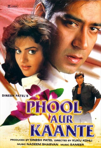 Download Phool Aur Kaante 1991 Hindi 480p HDRip 400mb