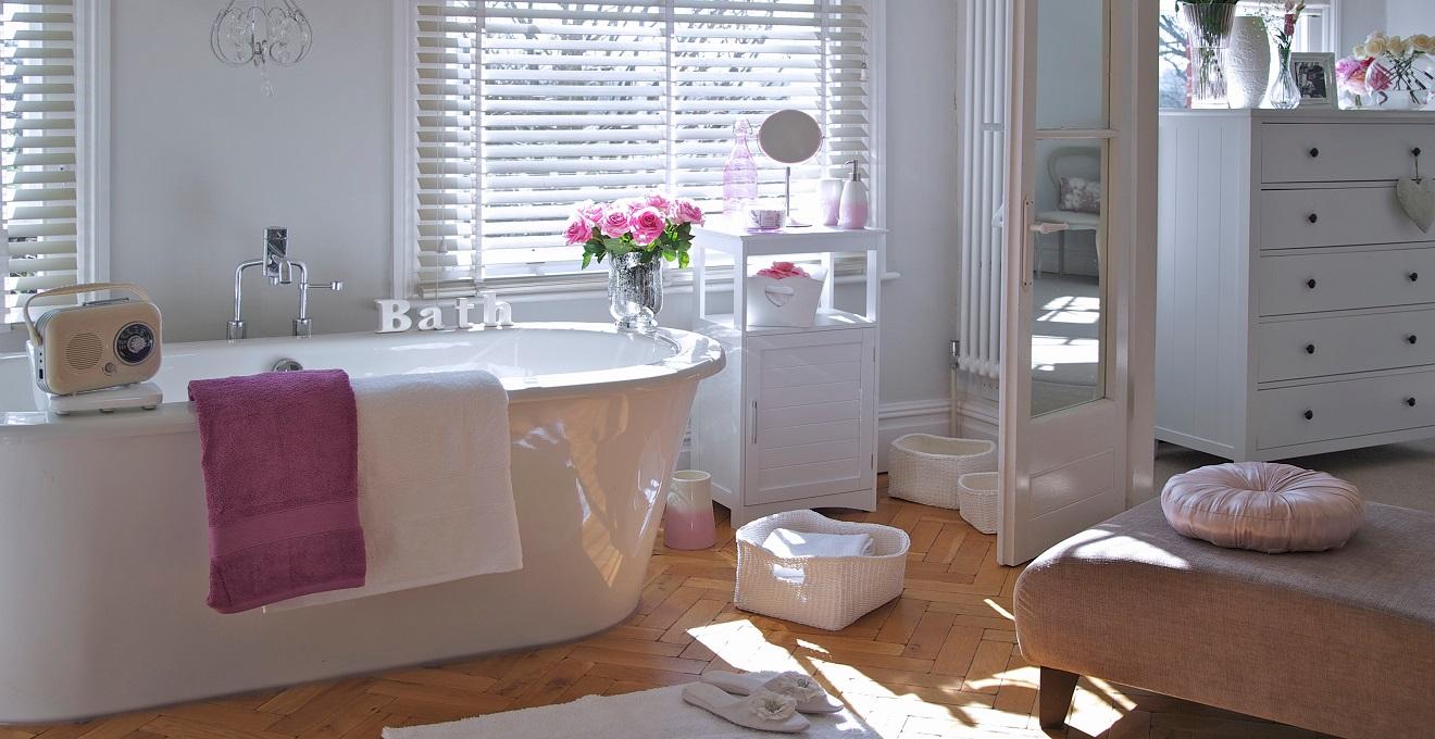 Construindo Minha Casa Clean Banheiros Femininos Decorados e Lindos! -> Cuba Banheiro Rosa