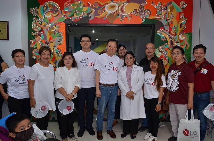LG Philippines Gives Back to the Community; Makes It Mark in Mindanao