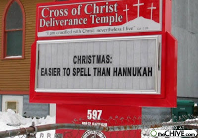 Christas: easier to spell than Hannukah