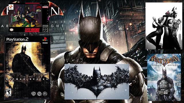 Batman videojuegos
