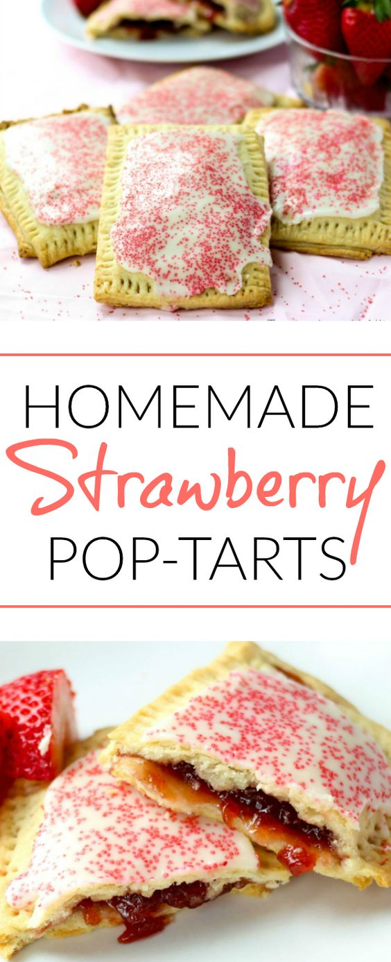 STRAWBERRY POP-TARTS