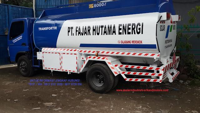 showroom truck tangki mitsubishi colt diesel 2020