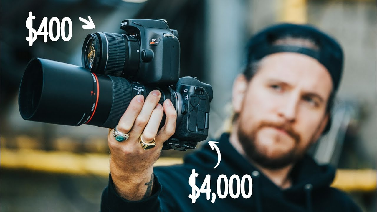 Can a Professional Photographer spot the difference? $400 Camera VS $4,000.00 Camera