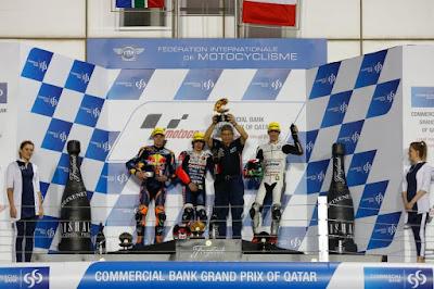 Antonelli Menangi Balapan Pembuka Moto3 Qatar 2016