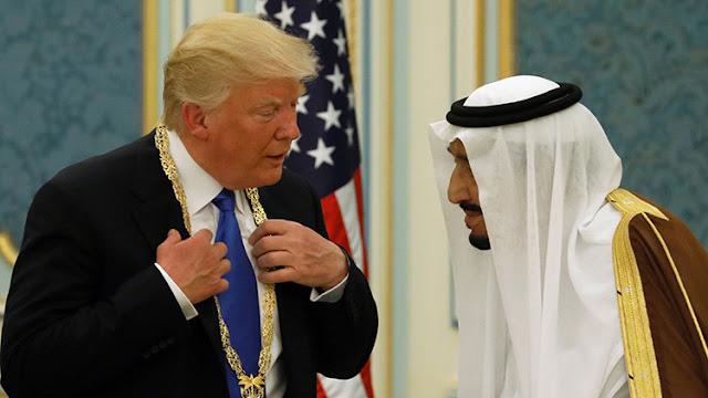 EE.UU. y Arabia Saudita firman acuerdos militares por 110.000 millones de dólares