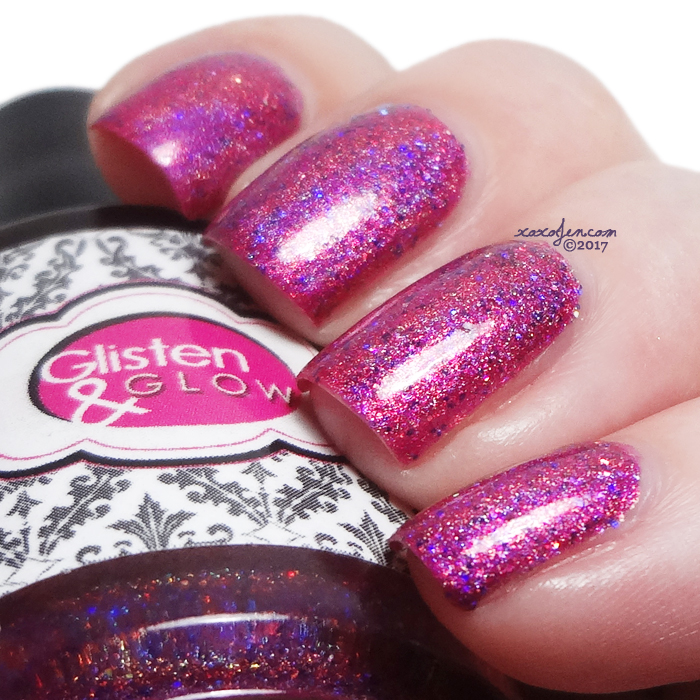 xoxoJen's swatch of Glisten & Glow NYC is my Jam