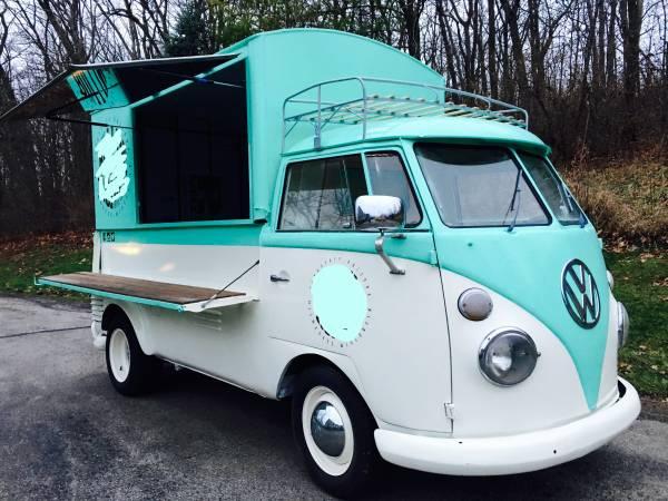 1960 VW Split Screen Custom Food Truck | vw bus wagon