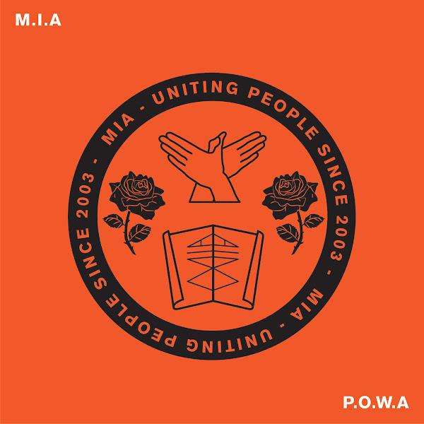 M.I.A. - P. O. W. A - Single Cover