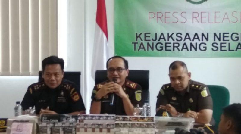 Bea Cukai Tangsel berhasil amankan 208.800 ribu batang rokok ilegal