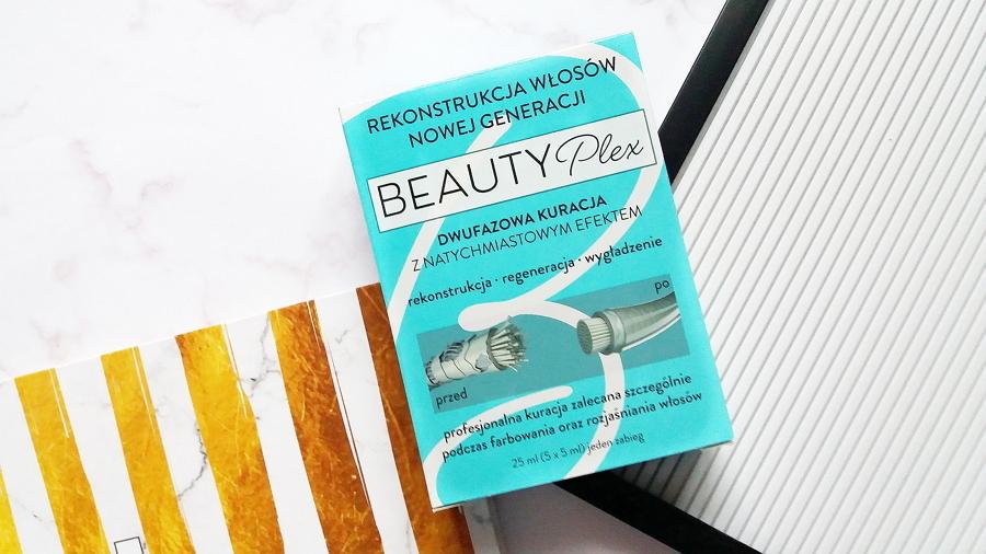 BeautyPlex • Dwufazowa kuracja z natychmiastowym efektem, Rekonstrukcja włosów nowej generacji