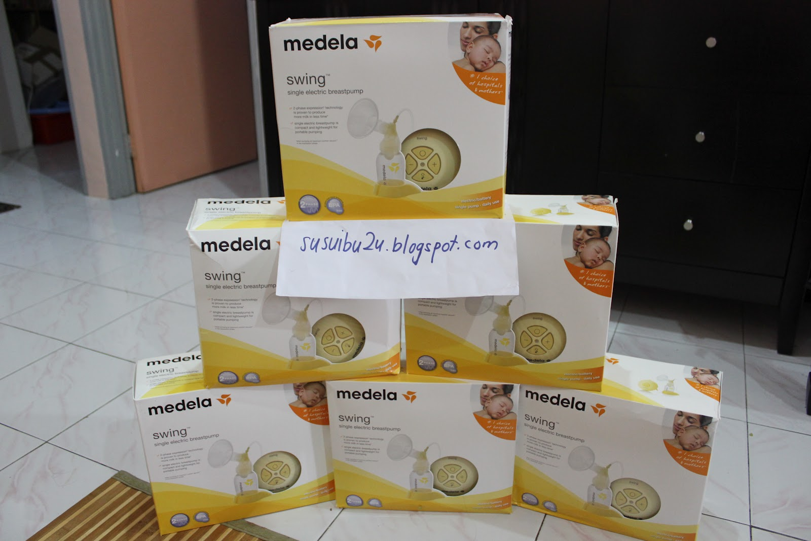 Susu Ibu , Breastfeeding Dan Breast Pumps Harga Medela Swing-8541