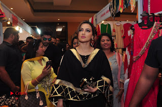 Bollywood Actress Sana Khan Launches Aakrithi Exibition  0309.JPG