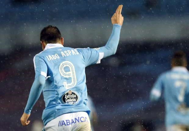 Hiện tại Aspas đang là chân sút hàng đầu ở giải La Liga.