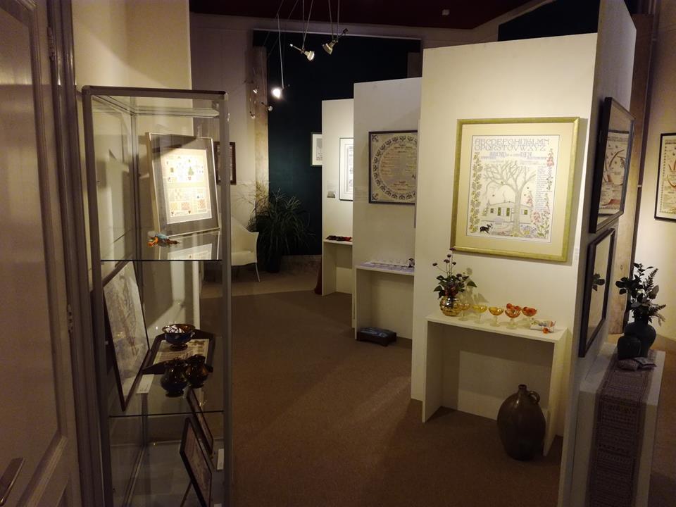TEXTIELPLATFORM: Jubileum expositie Afke Wullink in villa Jacoba ...
