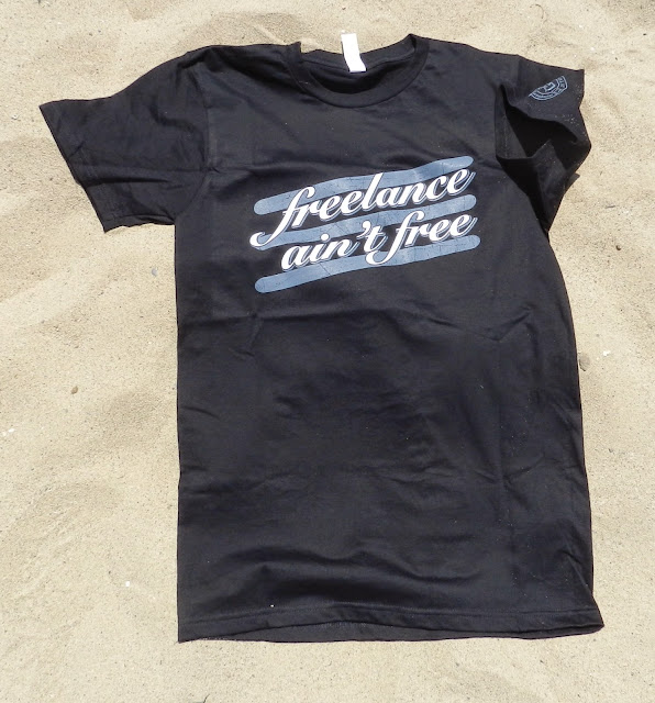 Spreadthewordwear Men's/Unisex 'freelance ain't free' shirt