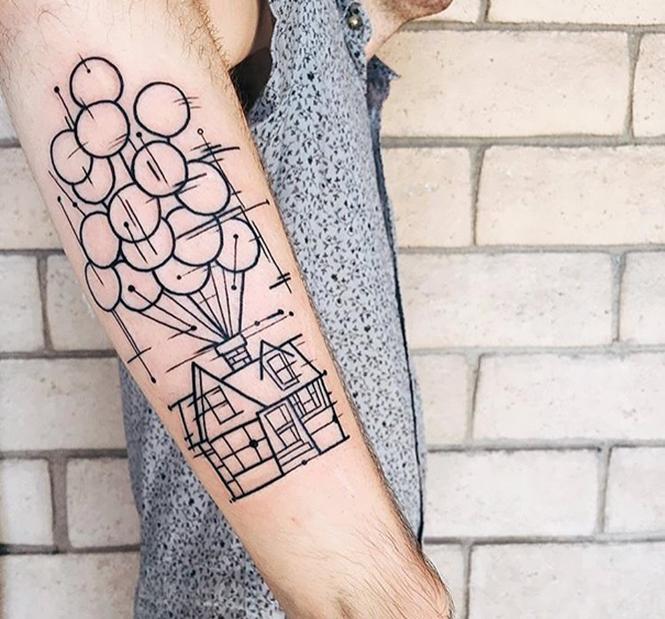 tatuagens de filmes