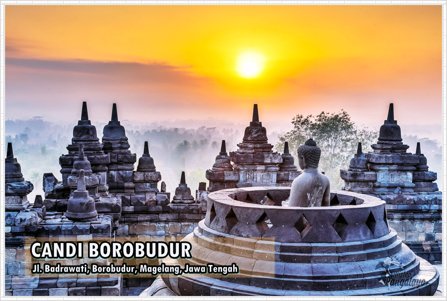 Candi Borobudur sebagai warisan budaya dunia