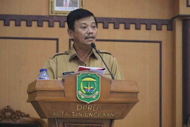 DPRD Tanjungpinang Dengarkan Pidato Pj Walikota Tahap I 2018