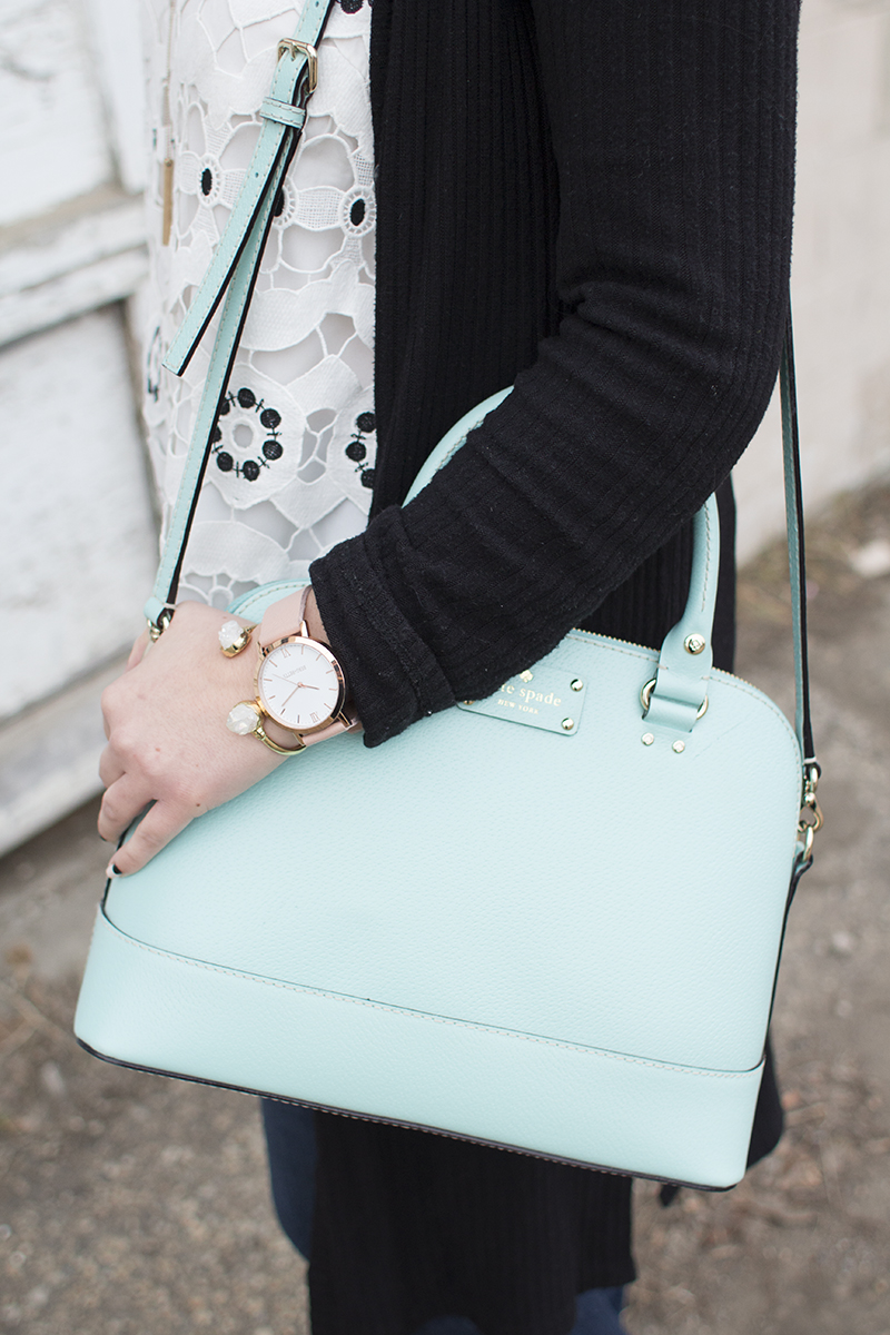Pastel accessories for spring