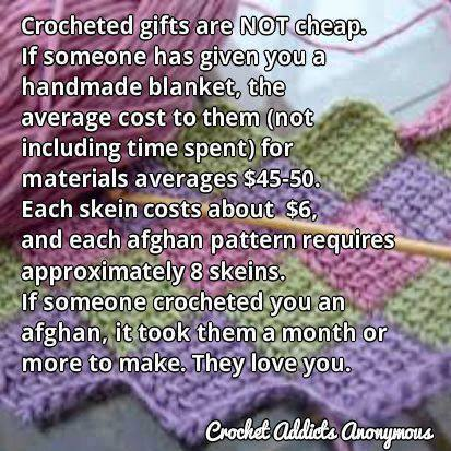 crocheted gifts...
