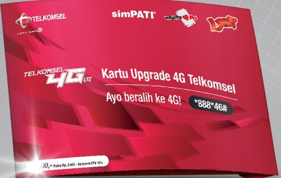 Cara Upgrade Kartu SIM Telkomsel ke 4G LTE tanpa melalui GraPARI ... f53ef4a430