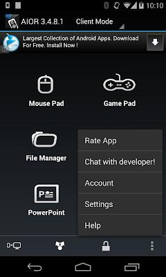 تطبيق مجاني مميز للتحكم في جهاز الكمبيوتر من الاندرويد AIO Remote 3.4.9 APK