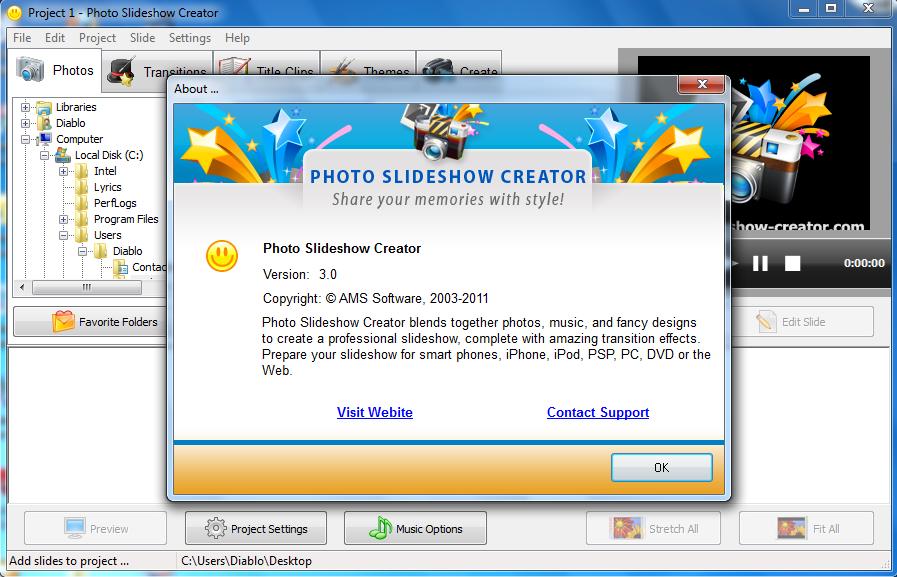 Photo Slideshow Creator 4 25 Crack and Serial key Free