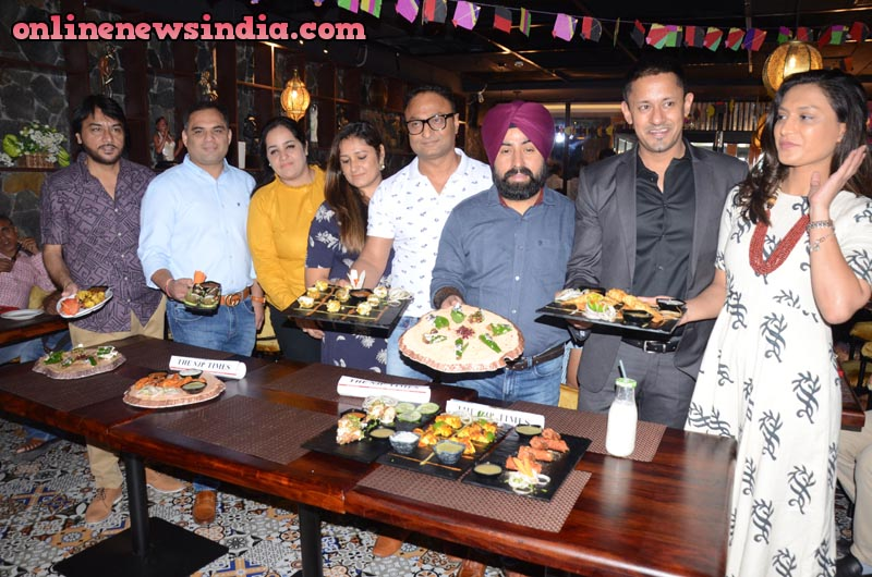 Varun Agarwal, the Managing Director of NJP along with Franchise partners of NJP Ludhiana Gurinder Singh, Harish Sharma and Rajeev Gandhi during launch
