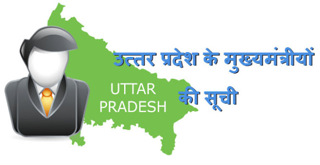 List of Chief Ministers of Uttar Pradesh