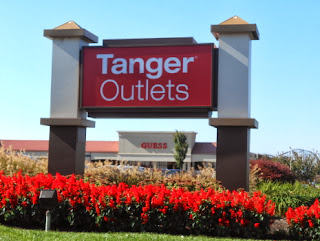 Tanger Outlets Mall in Hershey Pennsylvania