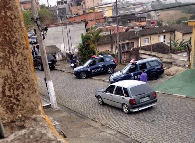 Guarda Civil de São Paulo reage a tentativa de assalto a sua lan house em Rio Grande da Serra, marginais são alvejados e um acaba linchado por populares até a morte
