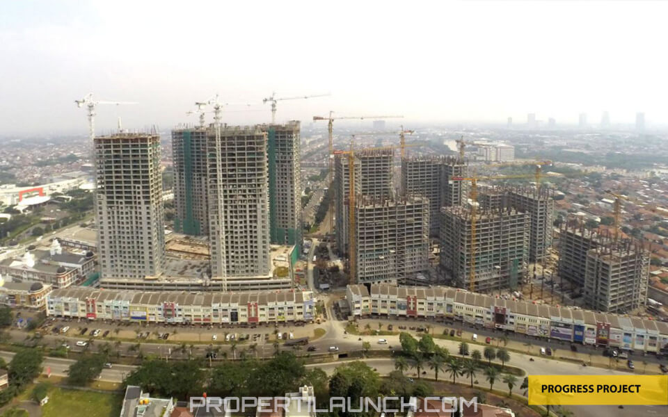 Progress Pembangunan Apartment Serpong M-Town
