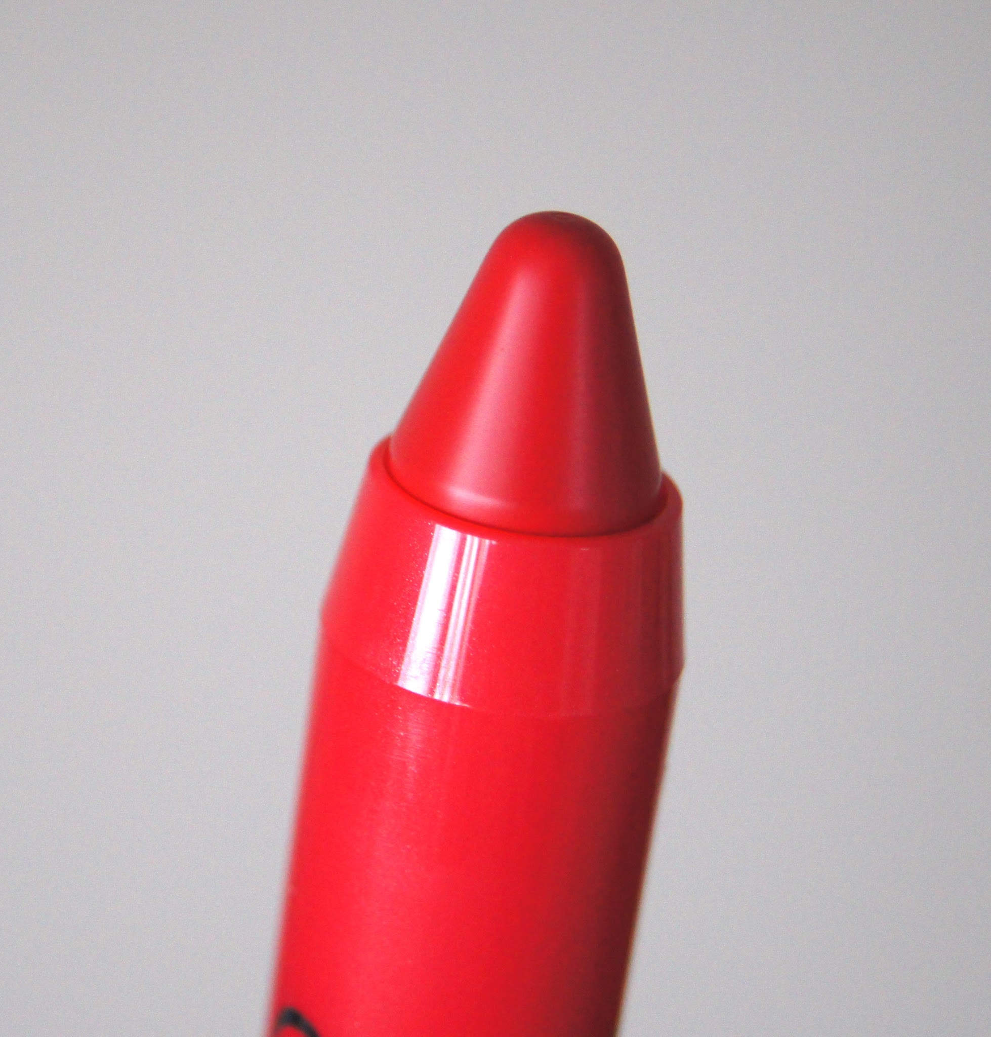 bourjois color boost glossy finish lipstick 01 red sunshine review swatch