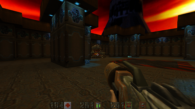 Screenshot from Quake II