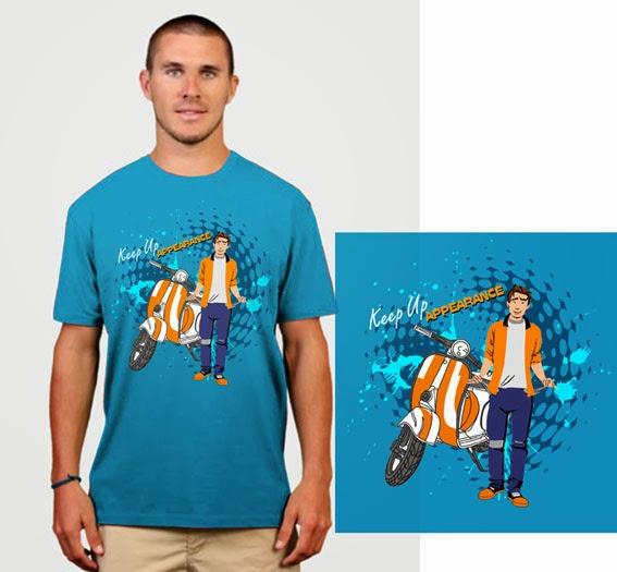 10 Contoh Desain T-shirt Keren Dan Design Kaos Unik