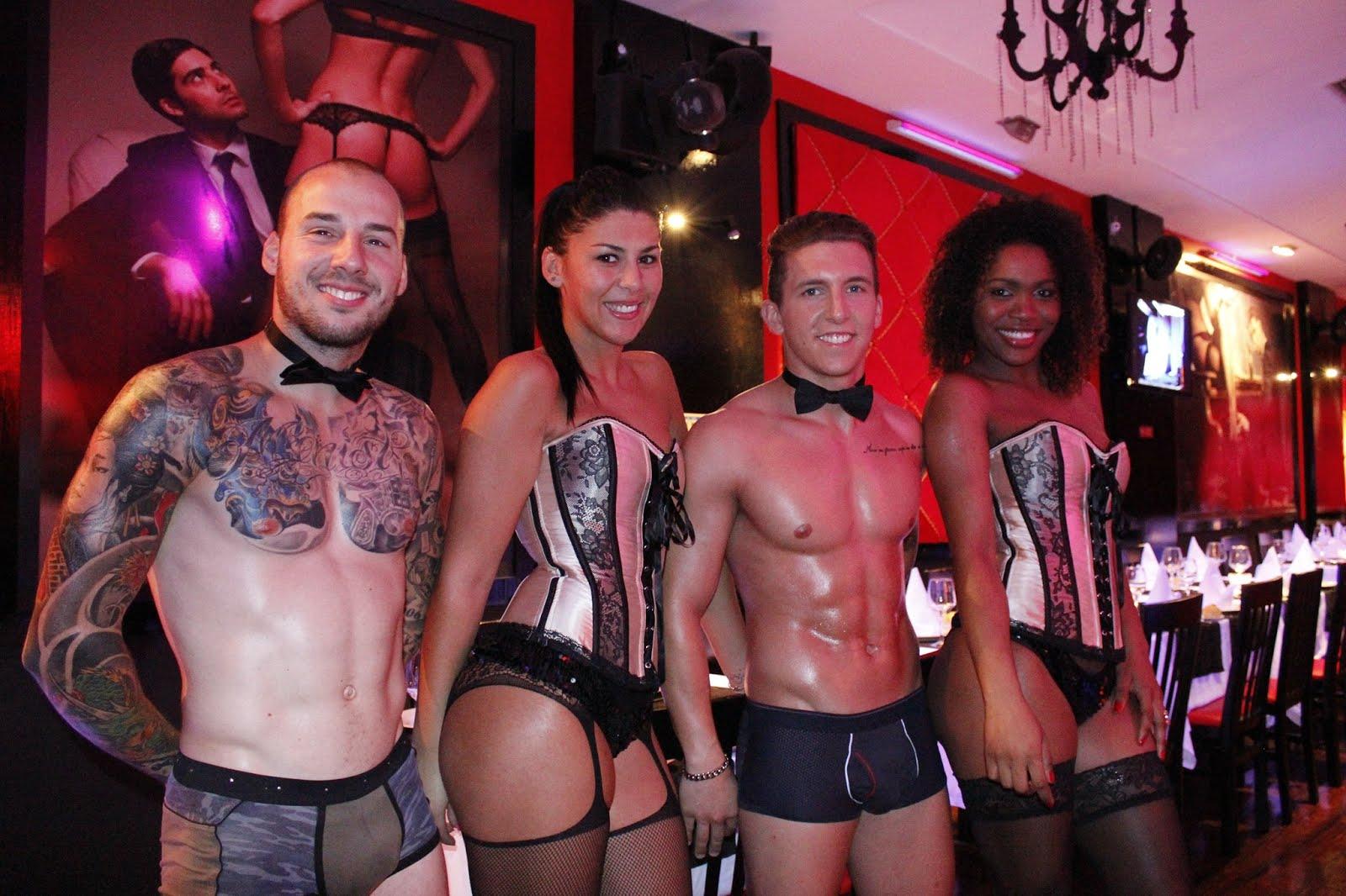 fb585a98cb7 adolescente gay: Parceria The Lingerie Restaurant